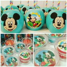Candy apples and chocolate covered oreo