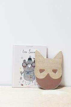Miroir chat - April Eleven - fait en France à la main.