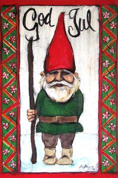 Swedish Folk Art Christmas Tomte