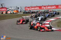 Sebastian Vettel, Ferrari, Formule 1 Grand Prix van China 2015, Formule 1