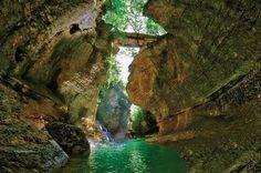 Canyon in Samegrelo   Georgia (Country)   საქართველო