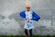 Zara tigers in a dress for Roos by Polkadotjes., via Flickr