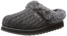 BOBS from Skechers Women's Keepsakes Delight Slipper,Charcoal,5.5 M US * You can get additional details at the image link.