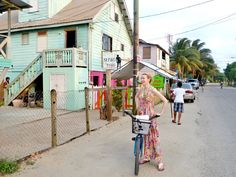 Placencia, Belize is a cute little town with a couple of rustic bars and places to get smoothies. (2014) Read about #Belize here: http://www.urbanette.com/tag/belize/