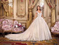 Wedding Dress Photos - Find the perfect wedding dress pictures and wedding gown photos at WeddingWire. Browse through thousands of photos of wedding dresses. Bridal Wedding Dresses, Bridal Style, Lace Wedding, Marie Laporte, Gown Photos, Wedding Dress Pictures, Perfect Wedding Dress, Bridal Collection, Ball Gowns