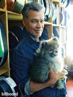 Eddie Van Halen & a Pomeranian,yes please