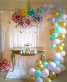 Painel lindo #decoracionbabyshower