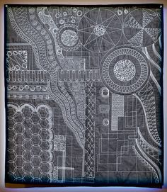 Amazing quilting by Gina Perkes