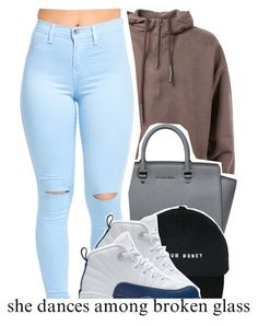 """""""dope sets 7 8 2016"""" by raeebabyy ❤ liked on Polyvore featuring MICHAEL Michael Kors and NIKE"""