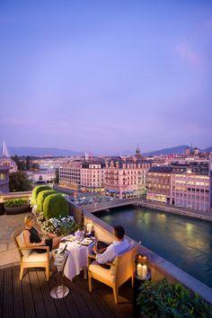 Ask for a balcony view - Mandarin Oriental, Geneva, Switzerland