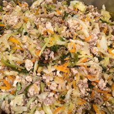 Crack Slaw Recipe One of my favorite dishes and I've noted the alterations necessary to make this Whole30 compliant.  However you make it, it's delicious!