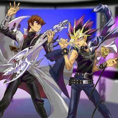 Dark Magician (Mahad) and Yami Yugi (Atem)   Heart of the ...