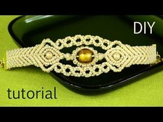 Sun in the Sea - Macrame Bracelet Tutorial - YouTube