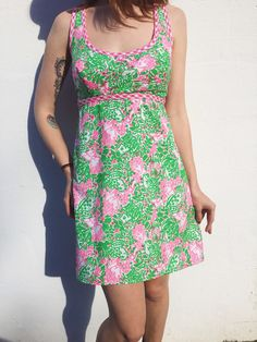 Lilly Pulitzer The Lilly Dress Abstract Mod by FrolicExchange