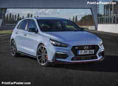 Hyundai i30 N 2018 poster, #poster, #mousepad, #tshirt, #printcarposter