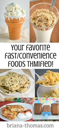 Your Favorite Fast/Convenience Foods THMified!