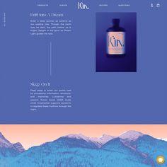 Kin Euphorics · Typewolf - Fonts used: Ogg, Univers, Work Sans - Layout Design, Layout Web, Website Design Layout, Web Design Blog, Design Ios, Icon Design, Typography Inspiration, Web Design Inspiration, Rifle Paper
