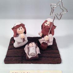 ilfilodelleidee: Presepi di Natale in fimo