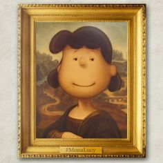 """""""The Mona Lucy."""""""
