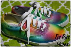 It's My Life: Tie-Dye Shoes#