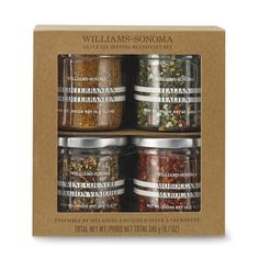 Williams Sonoma offers a festive array of cooking gift baskets and luxury gift sets for the holiday. Find delicious food gift sets that are sure to please anyone. Gifts For Cooks, Gifts For Mom, Great Gifts, Jam Packaging, Gourmet Gift Baskets, Williams Sonoma, Gourmet Recipes, Olive Oil, Herbs