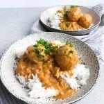 Indiske kødboller Garam Masala, Broccoli, Curry, Food And Drink, Gluten Free, Indian, Meals, Snacks, Dinner