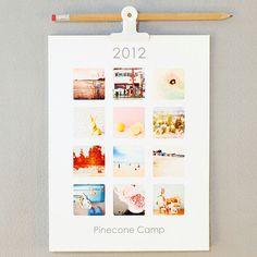 Pinecone Camp 2012 Photo Wall Calendar $20