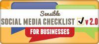 Sensible Social Media Checklist for Business v.2.0 [INFOGRAPHIC]