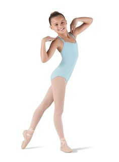 Double Strap Seamed Leotard