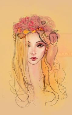 Rosy crown.