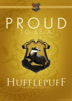 Hufflepuff's are particularly good finders.