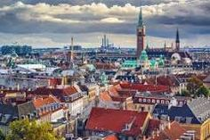 Denmark tops the list of the most peaceful countries on Earth since it's really a safe place to live. Even while Copenhagen, the capital of Denmark, was under occupation by the Nazis during the World War II, it still did not fight. Oh The Places You'll Go, Places To Travel, Travel Destinations, Places To Visit, Holiday Destinations, Capital Of Denmark, Skyline, Voyage Europe, Viajes