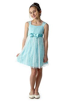 Amy Byer Lace Bow Dress Girls 7-16  34.80 at Belk.com Lace Bows 0d37d2ec0990
