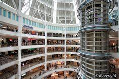 Suria KLCC shopping centre, Kuala Lumpur.