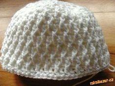Jednoduchý plastický vzorek ušanka čepičku baret či šála