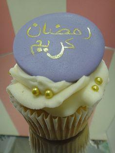 Decorated cupcake for Ramadan by cupcakes_qatar