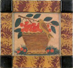 Fraktur, possibly by Pennsylvania folk artist David Y. Ellinger