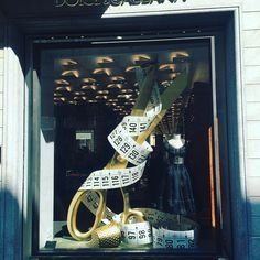 """DOLCE&GABBANA, Milan, Italy, """"I never run with scissors"""", (Those last two words were unnesessary), photo by Corin Birchall, pinned by Ton van der Veer"""