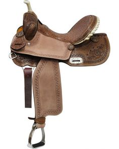Double T Barrel Saddle - #6563
