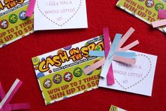 I like you a whole lotto! Perfect Valentine for co-workers, significant other, or adult friends!