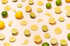 Sliced fruit lemon and lime by wm   Stocksy United