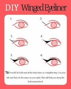 How Do You Wear YOUR Eye Liner? « Melissa's Blog (Honeybee Gardens)