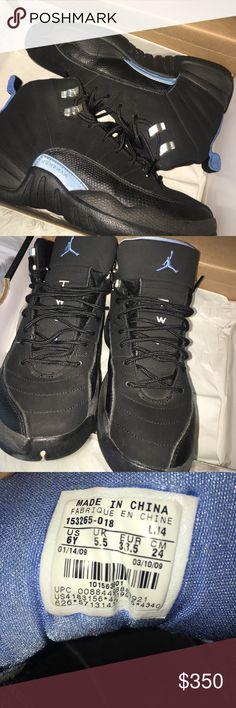 "Air Jordan ""Nubuck"" 12's 2009 release 10/10 condition. Worn only 1 time. OG's Jordan Shoes Sneakers"