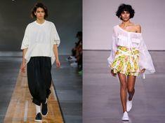 5 Blouse Patterns, Clothing Patterns, Blouse Designs, Emilio Pucci, Phillip Lim, Kenzo, Evening Blouses, Blouses For Women, Women's Blouses