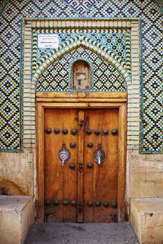 Door - Nasir ol Molk Mosque, Shiraz, Iran