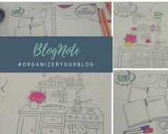Nasce il BlogNote. Un quaderno un po' agenda, un po' piano editoriale che permette ai blogger di organizzare a meglio il proprio spazio sul web... #OrganizerYourBlog Bullet Journal