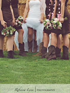 Cute idea for a country wedding
