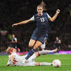Soccer Star Alex Morgan Loves Playing Like a Girl   Shape Magazine