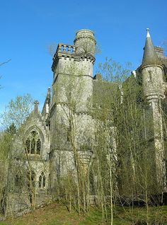 Abandoned Castle by Bas Vrins, via Flickr
