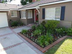front yard planter